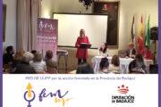 FEM UP BADAJOZ RED DE UNIVERSIDADES POPULARES POR LA ACCIÓN FEMINISTA EN LA PROVINCIA DE BADAJOZ