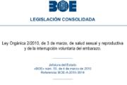 Ley Orgánica 2/2010