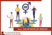 """FORMACIÓN ONLINE """"USO NO SEXISTA DEL LENGUAJE"""""""