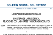 Real Decreto 901/2020