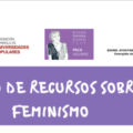 Banco de recursos sobre feminismo